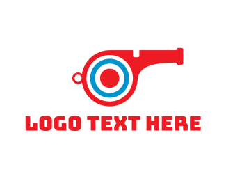 Match - Target Whistle logo design