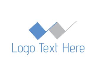 Tile - Letter W logo design