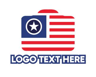 Journalist - Camera USA logo design
