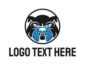 Furious - English Bulldog logo design