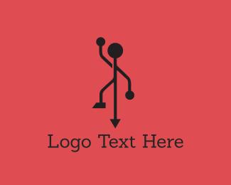 Usb - Standarp logo design