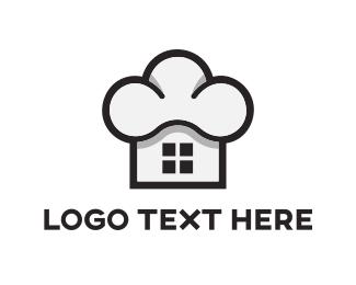 Cooking - Chef Home logo design