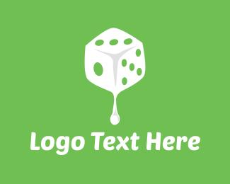Drop - Dice Drop logo design