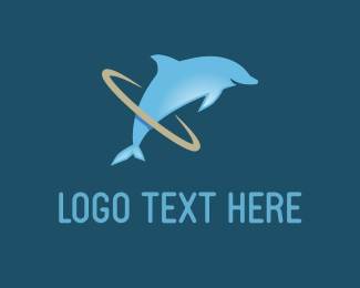 """Dolphin Hoop"" by designabot"