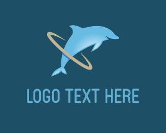 Dolphin Hoop Logo