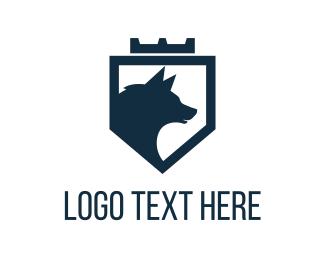 Crown - Royal Wolf logo design