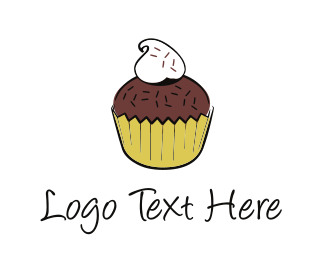 Chocolate Cupcake Logo