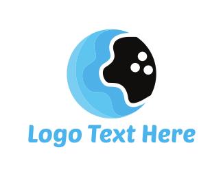 Fluid - Water Bowling logo design