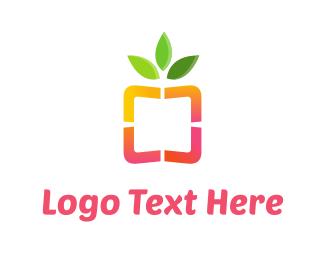Ecology - Healthy Box logo design