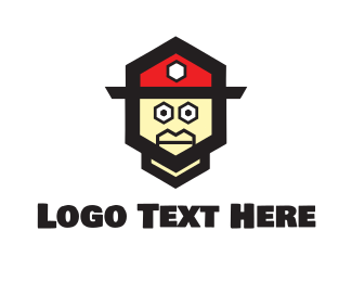 Cap - Fireman Toy logo design