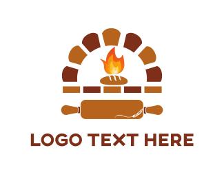 Oven - Bakery Oven logo design