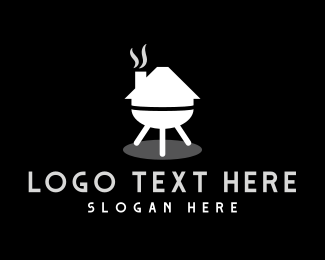 Grilled - Grill House logo design