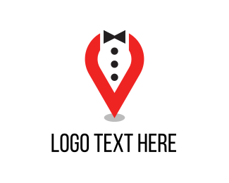 Black Tie - Tuxedo Location logo design