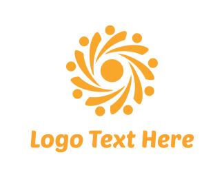Light - Yellow Sun logo design
