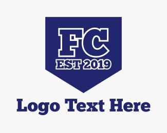 Sport Team - FC Shield logo design
