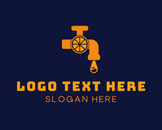 Tap - Orange Tap  logo design