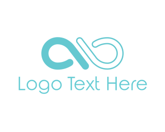 Loop - Blue Hoop logo design
