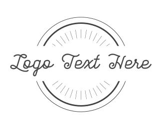 Minimalist - Simple Circle logo design