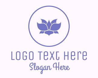 Physician - Purple Lotus logo design