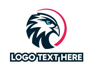 Eagle - Circle Eagle logo design