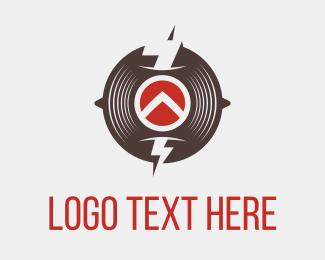 Disk - Thunder Circle logo design