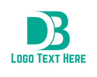 Mint - D & B logo design