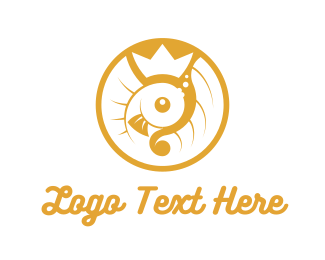 Fair - Golden Fish logo design