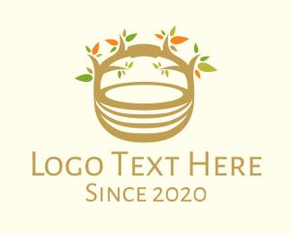 Branch - Tree Basket logo design