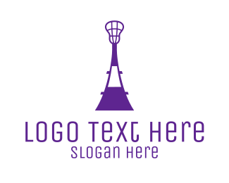 Varsity - Lacrosse Tower logo design