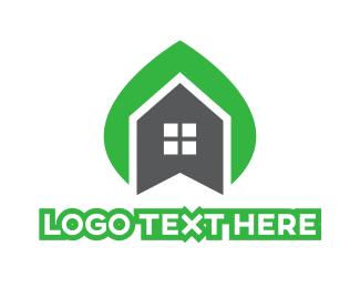 Home - Leaf House logo design