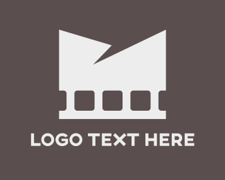 White - White Film logo design