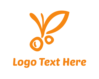 Tropical - Orange Fruit logo design