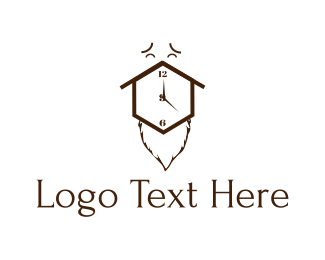 Minute - Clock Face logo design