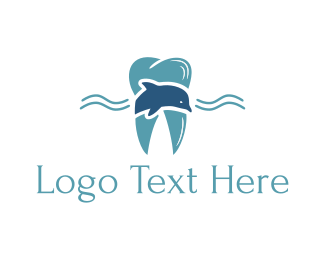 Teeth - Marine Tooth logo design