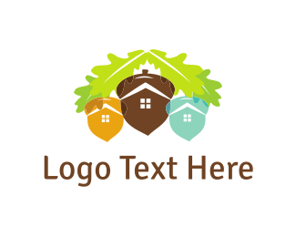 Acorn - Acorn City  logo design