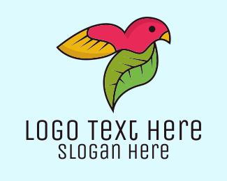 Wilderness - Natural Bird logo design