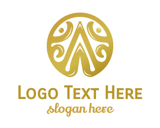 Gold - Gold A Emblem logo design