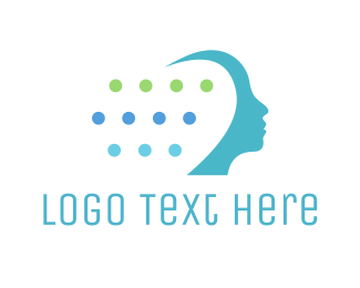 Psychologist - Mind Technology logo design