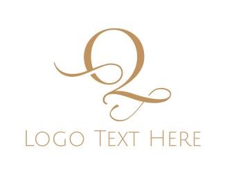 Font - Elegant Letter Q logo design