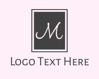 Drapery -  M Square logo design