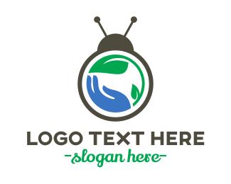 Biology - Bug Care logo design