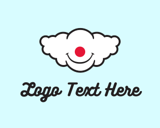 Imagination - Clown Cloud logo design