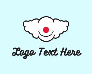 Clown Cloud Logo