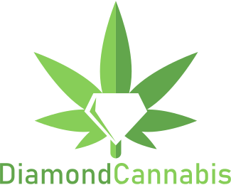 Weed - Diamond Cannabis logo design