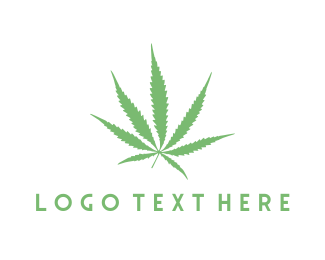 Marijuana - Cannabis Leaf logo design
