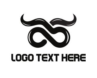 Longhorn - Infinity Horns logo design