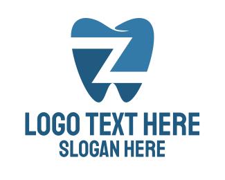 Odontology - Dental Letter Z logo design