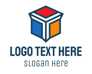 Container - Cube Letter Y logo design