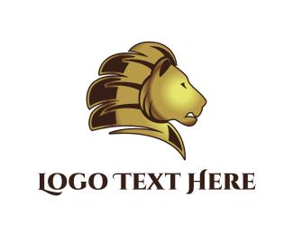 Predator - Golden Lion logo design