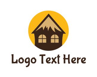 Cottage - Tropical Cottage logo design